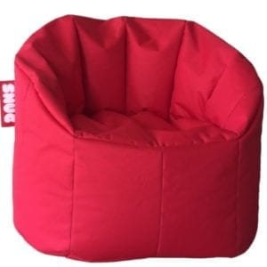Snug Bean Chair - Red