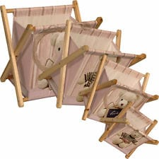 Teddy Magazine/Storage Racks - Set of 4