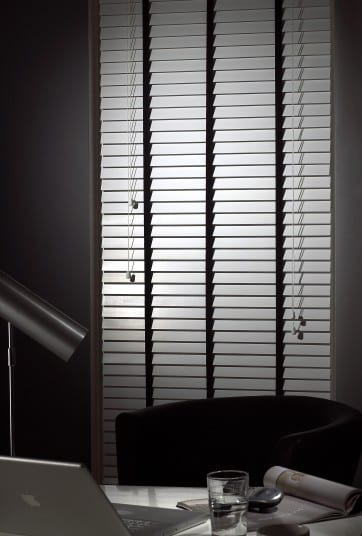 White Wood Slat - Venetian Blind